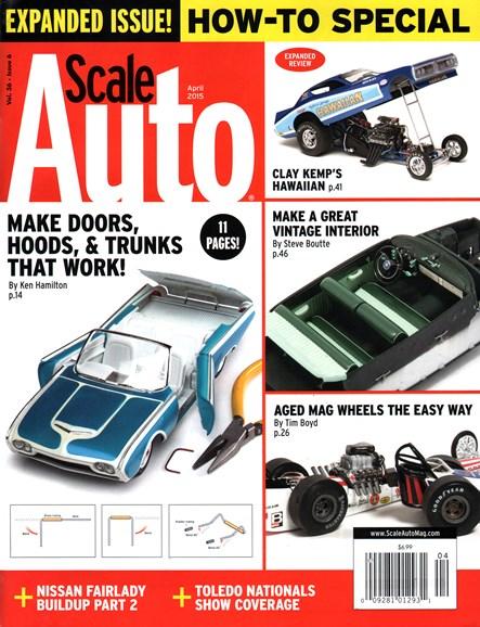 Scale Auto Magazine Cover - 4/1/2015