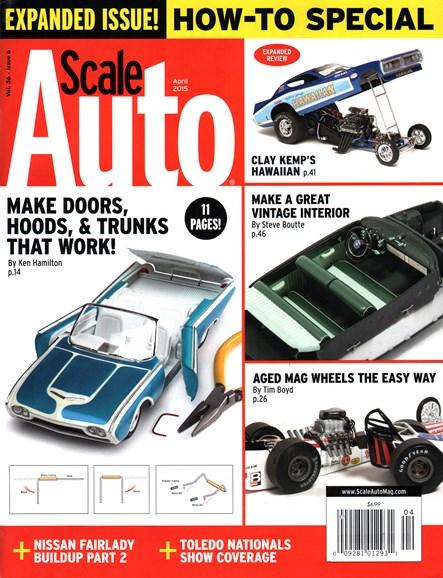 Scale Auto Magazine Cover - 4/1/2015