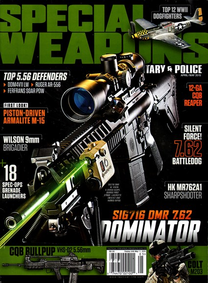Special Weapons for Military & Police Cover - 4/1/2015