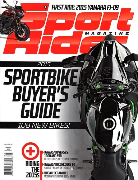 Sport Rider Cover - 4/1/2015