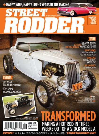Street Rodder Cover - 4/1/2015