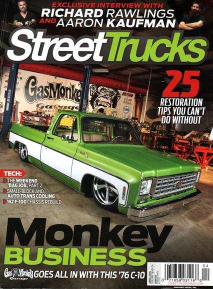 Street Trucks Cover - 4/1/2015