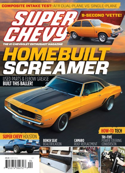 Super Chevy Cover - 4/1/2015