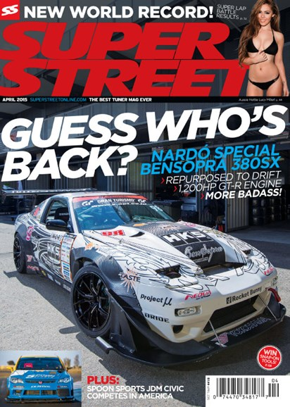 Super Street Cover - 4/1/2015