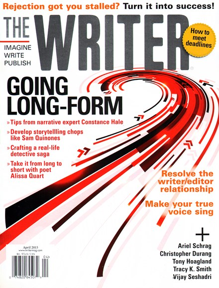 The Writer Cover - 4/1/2015