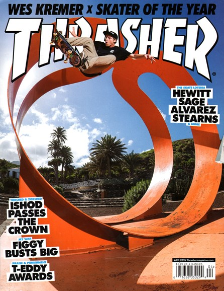 Thrasher Cover - 4/1/2015