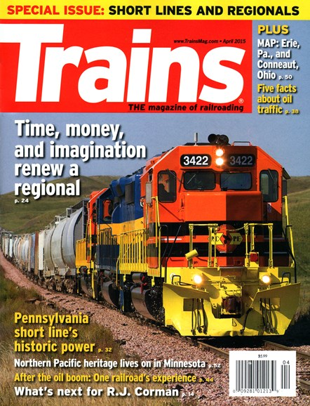 Trains Cover - 4/1/2015
