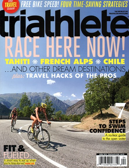 Triathlete Cover - 4/1/2015