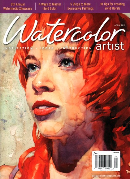 Watercolor Artist Cover - 4/1/2015