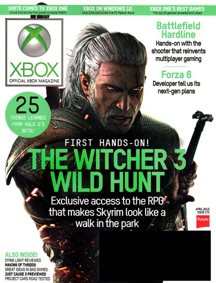 Official Xbox Magazine Cover - 4/1/2015