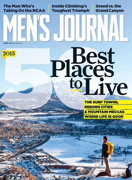 Men's Journal Cover - 4/1/2015