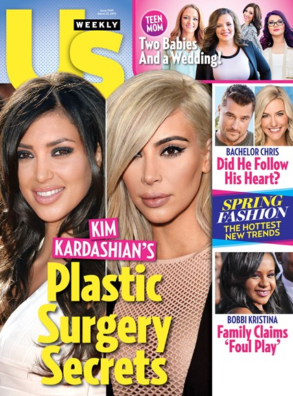 Us Weekly Cover - 3/25/2015