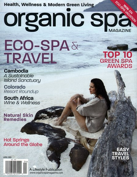 Organic Spa Cover - 4/1/2015