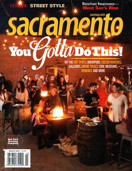 Sacramento Cover - 3/1/2015