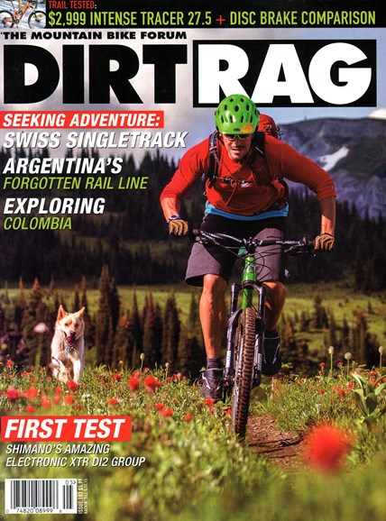 Dirt Rag Cover - 4/1/2015