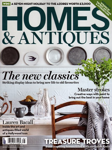 Homes & Antiques Cover - 3/1/2015