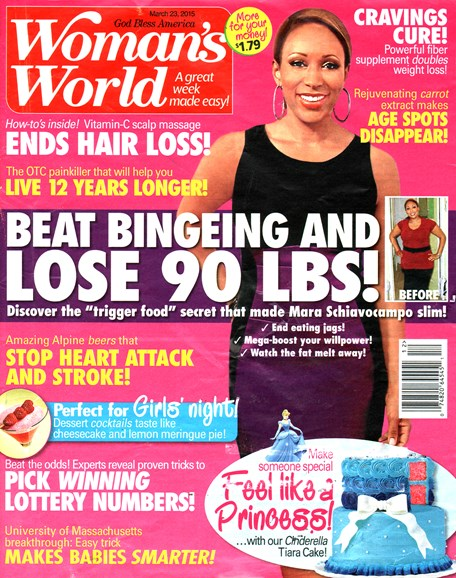 Woman's World Cover - 3/23/2015