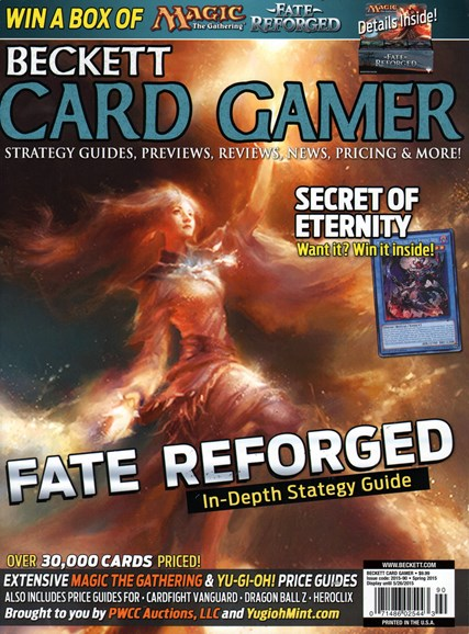 Beckett Card Gamer Cover - 3/1/2015