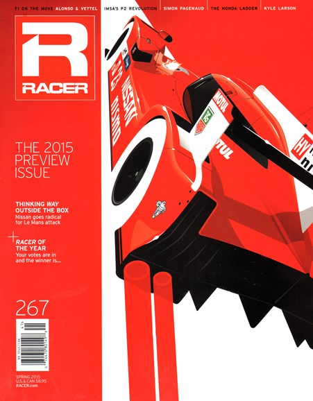 Racer Cover - 3/1/2015