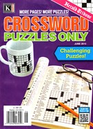 Herald Tribune Crossword Puzzles Magazine 6/1/2015