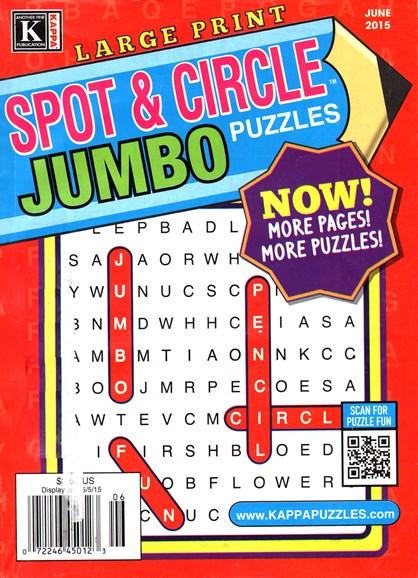 Spot & Circle Jumbo Cover - 6/1/2015
