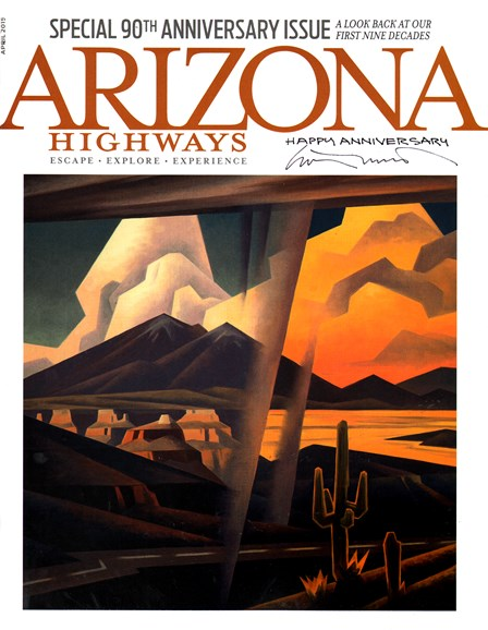 Arizona Highways Cover - 4/1/2015