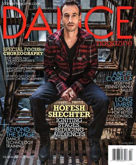 Dance Magazine Cover - 4/1/2015