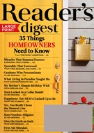 Reader's Digest Large Print 4/1/2015