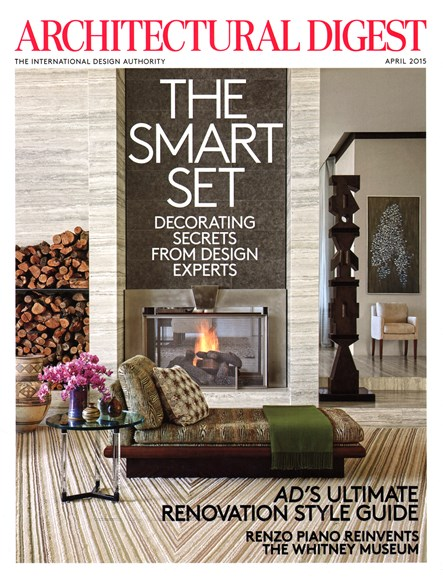 Architectural Digest Cover - 4/1/2015