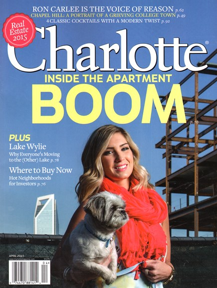 Charlotte Magazine Cover - 4/1/2015