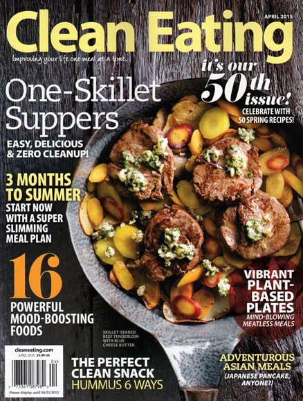 Clean Eating Cover - 4/1/2015
