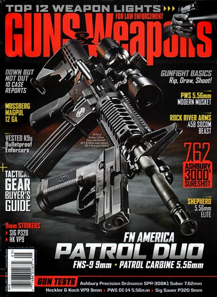 Guns & Weapons For Law Enforcement Cover - 4/1/2015