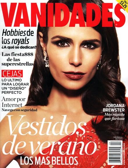 Vanidades Cover - 4/1/2015