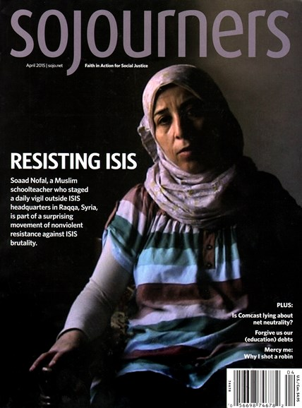 Sojourners Cover - 4/1/2015