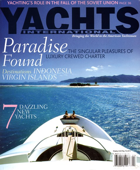 Yachts International Cover - 4/1/2015