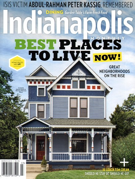 Indianapolis Monthly Cover - 3/1/2015
