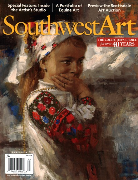Southwest Art Cover - 4/1/2015