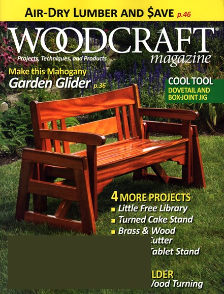Woodcraft Cover - 4/1/2015