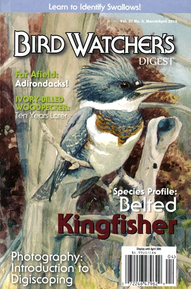 Bird Watcher's Digest Cover - 3/1/2015