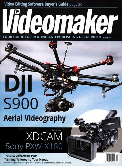 Videomaker Cover - 4/1/2015