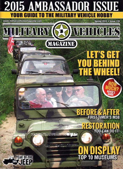 Military Vehicles Cover - 3/1/2015