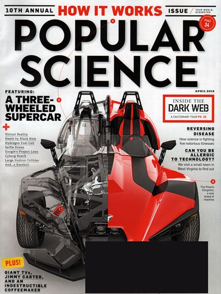 Popular Science Cover - 4/1/2015