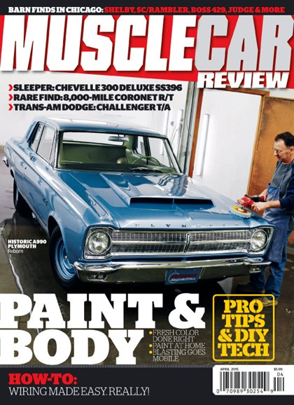 Muscle Car Review Cover - 4/1/2015