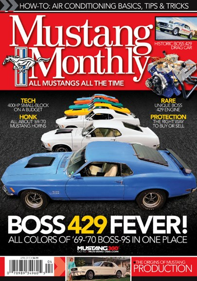 Mustang Monthly Cover - 4/1/2015