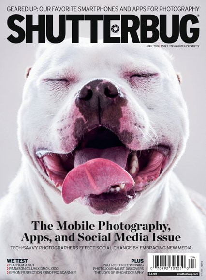 Shutterbug Cover - 4/1/2015