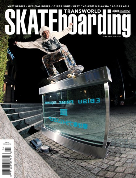 Transworld SKATEboarding Cover - 4/1/2015