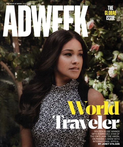 Adweek Cover - 3/23/2015