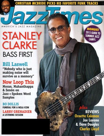 JazzTimes Cover - 4/1/2015