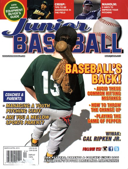 Junior Baseball Cover - 3/1/2015