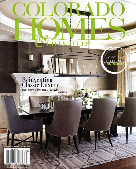 Colorado Homes & Lifestyles Cover - 4/1/2015